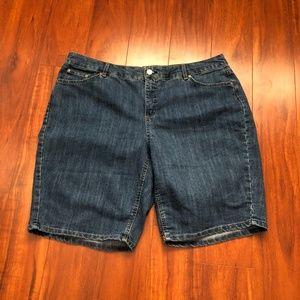 JMS Just My Size Shorts Size 22W Longer Length
